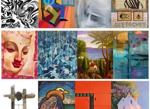 Local Artists Featured in Wilton Library's Exhibition, Opening with Friday Reception