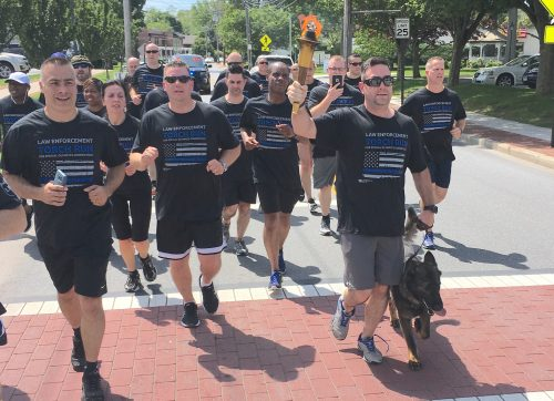 Law Enforcement Officers Will Participate in Torch Run for Special Olympics Connecticut, June 6-8