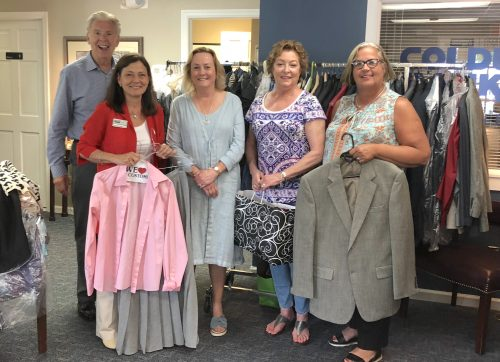Coldwell Banker Grateful to Wilton Community for Suit Drive Support
