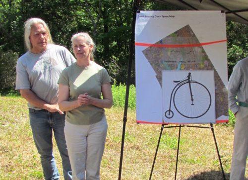 Parisot Family and Land Trust Dedicate Trail in Nicholas Parisot's Memory