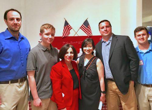 Boucher Opens Campaign Headquarters in Wilton